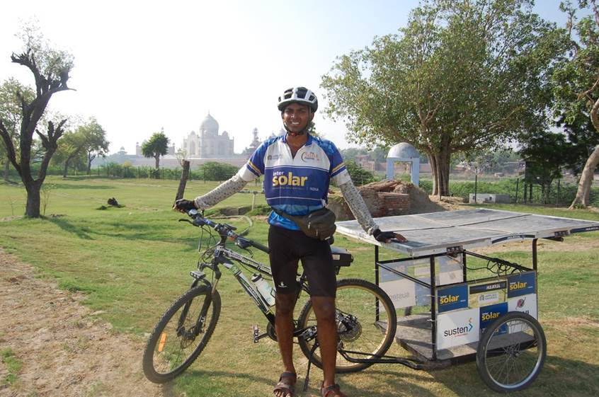 The SunPedal Ride - Sushil Pakala Reddy